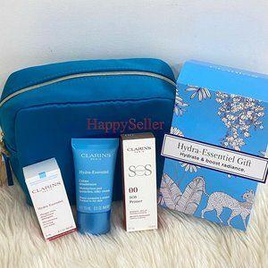 Clarins Hydra-Essentiel Gift Set; moisturizer lip
